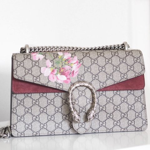 d78c04e34a29 @luciehornshaw. 2 years ago. United Kingdom. Gucci Dionysus Blooms Print bag  in medium. Perfect condition.