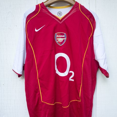 20cc58322de Arsenal Nike soccer jersey O2. Brand new without tags.  ccm - Depop