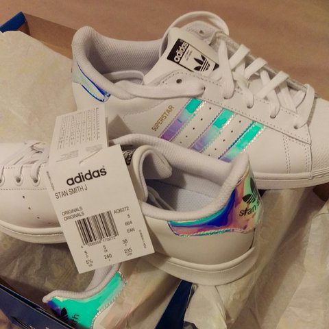 cheap for discount e8a4b e2006  damianrwb. 3 years ago. Potters Bar, United Kingdom. Adidas Superstar   Stan  Smith Iridescent