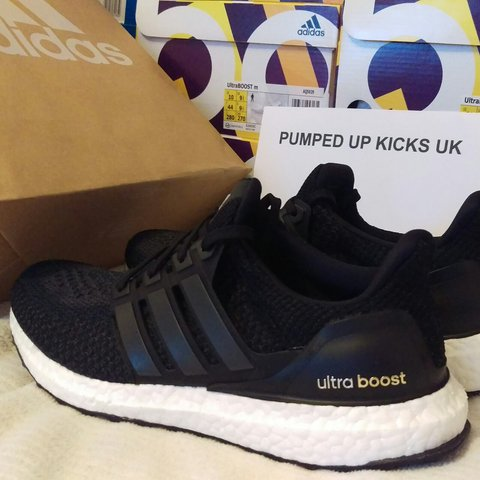 a0fde69a9c8 Adidas Ultra Boost Core Black 2.0 Deadstock £140 + 9