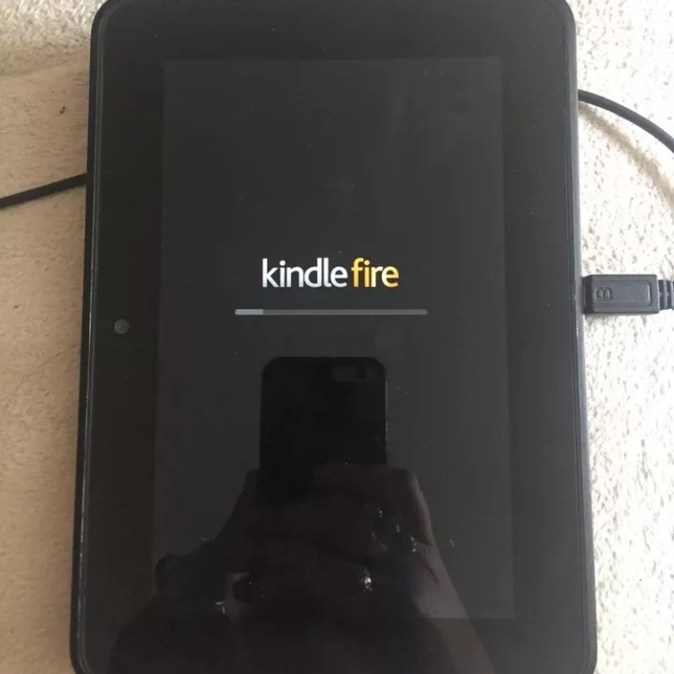 "Selling a Kindle Fire HD 7"" tablet  Great condition    - Depop"