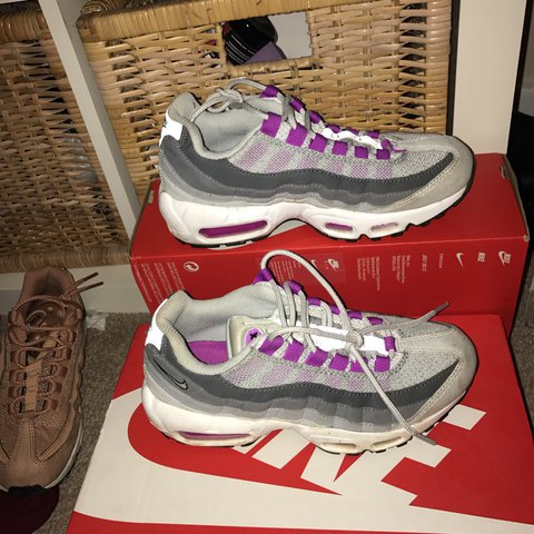9d5ec45601 @livgabb. last year. Selby, United Kingdom. Nike air max 95, good condition