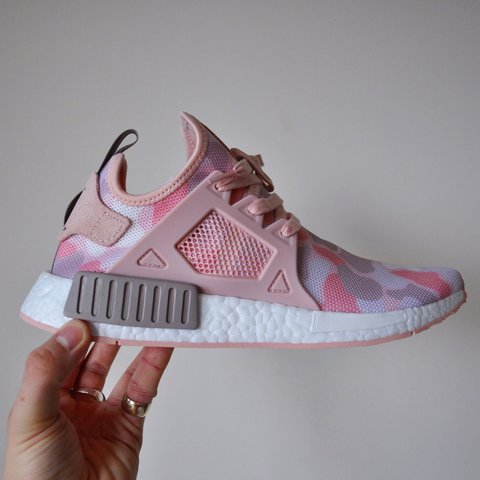 d50d687951ef5 @alexpanousis. 2 years ago. Bournemouth, United Kingdom. Adidas NMD XR1. Duck  camo - pink ...