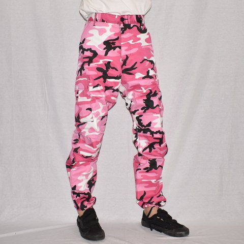 baa15c88af1f1 @jackpotvintage. 2 months ago. Gainesville, United States. Rothco Pink Camo  BDU Pants ...