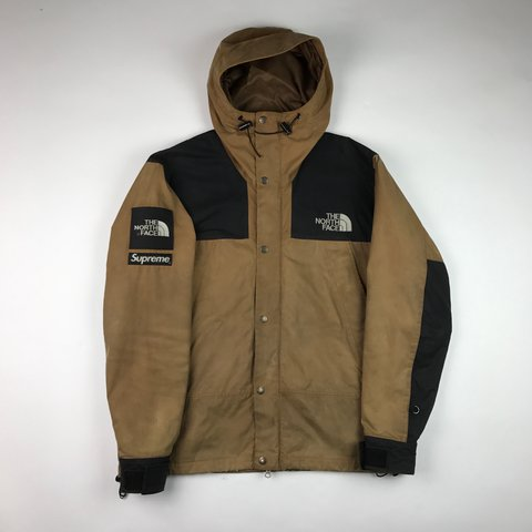 7326ef377a53 Supreme x The North Face Duck Brown Wax Jacket