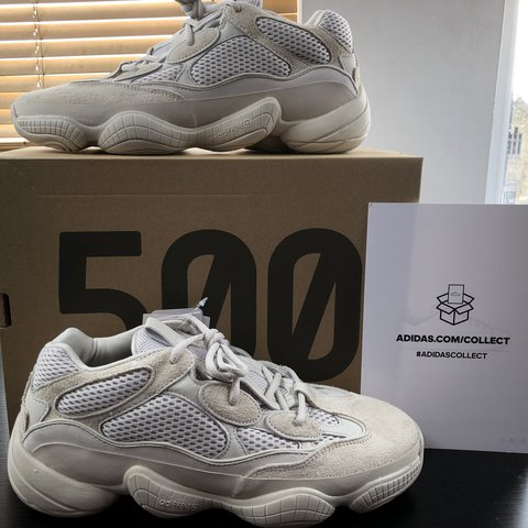 f2bd05ef7 Adidas Yeezy 500 Desert Rat Blush Size 10 Attached is of my - Depop