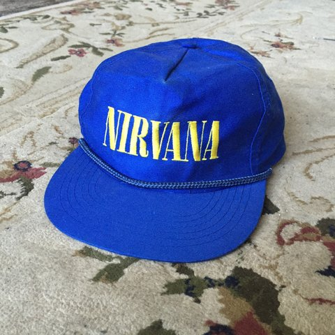 9ababe9e58ca6 Extremely rare Nirvana Nevermind snapback hat cap. This is a - Depop