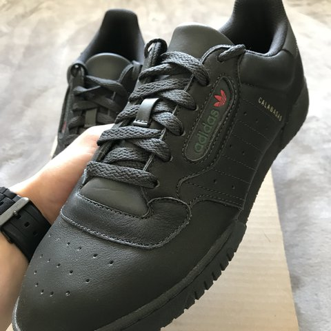 2a5905feab062 Adidas yeezy powerphase core black 10 10 condition only and - Depop