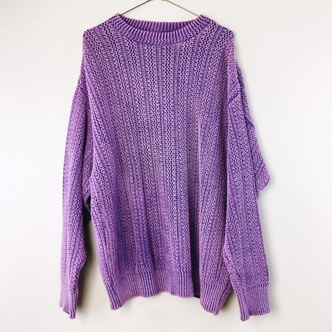 3054a094d44723 @oopsiedaesy. in 18 hours. Mount Dora, United States. this men's purple  knit sweater by Arizona Jean Company ...