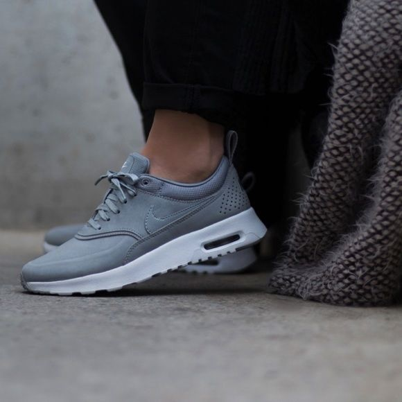LIKE NEW Nike air Max Thea grey, women's size Depop