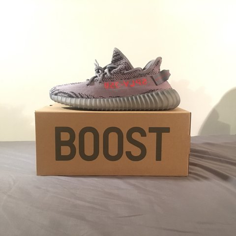 5369b8d9a2e69 Yeezy Boost 350 v2 beluga DSWT SIZE 8 £270 +ship and fees - Depop