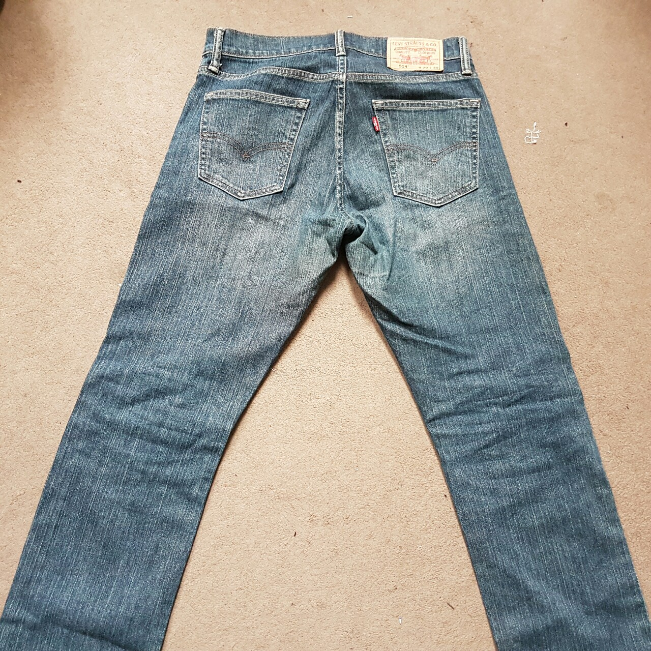 Levi Strauss Jeans, worn once, selling as they're Depop