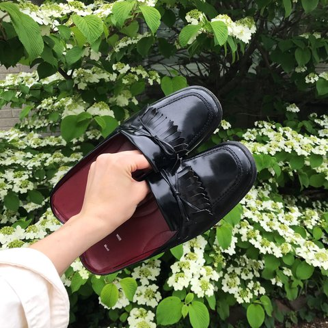 bd2d60eba979 Vintage backless loafers! 💥 Women s 8.5 I LOVE these