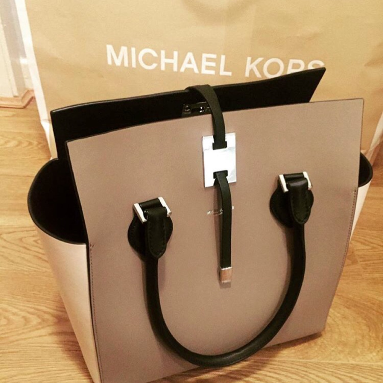 Michael Kors Collection Miranda Large Tote in the Depop