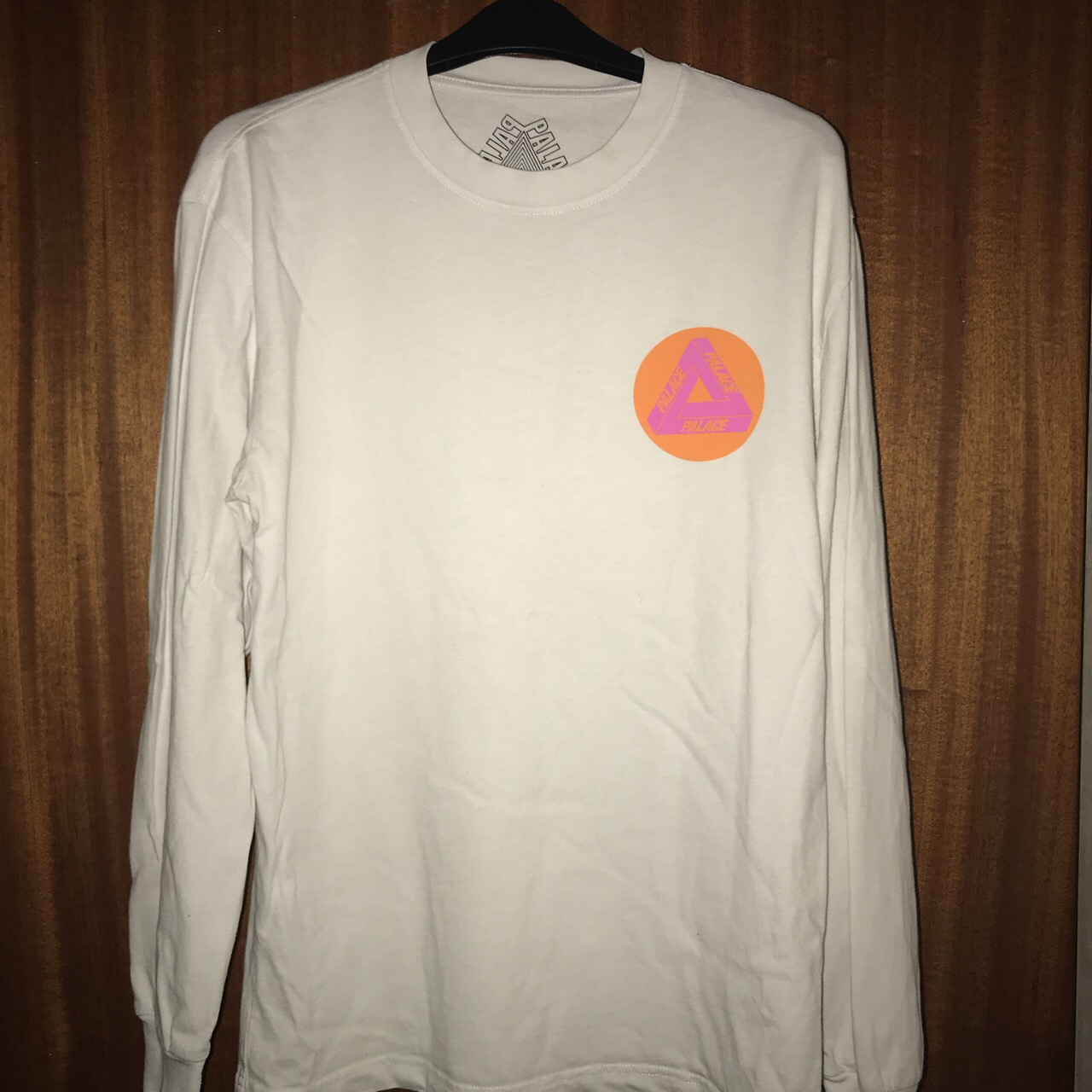 93a69356 leoncalvin123. Southend-on-Sea, United Kingdom. Palace Multi P White  longsleeve t shirt Size small 9/10 condition hardly been ...