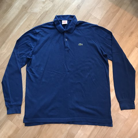 f21682c42031 Lacoste L!VE long sleeve polo short🔥 -size 6-this has been - Depop