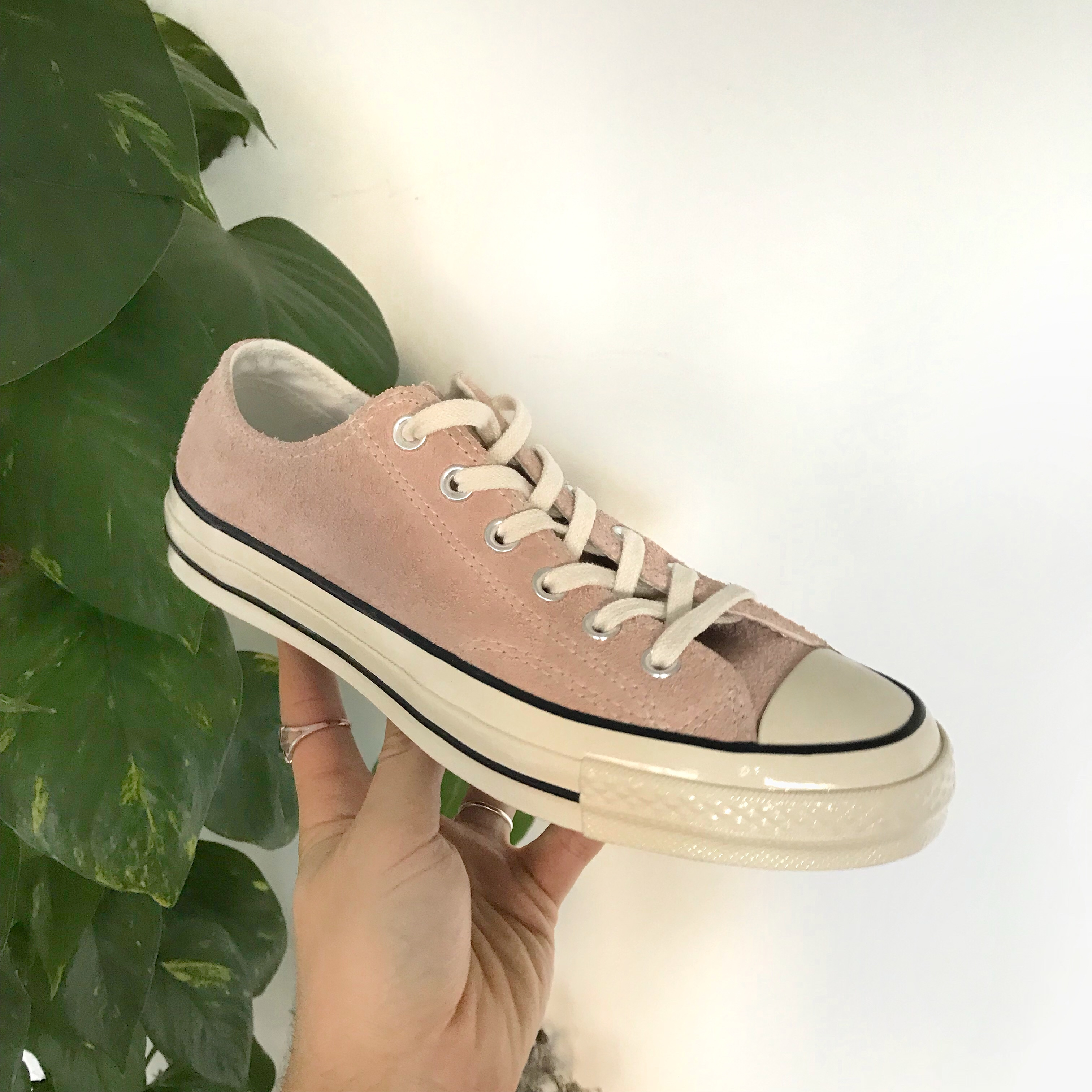 dusty pink suede converse, OFF 75%,Best