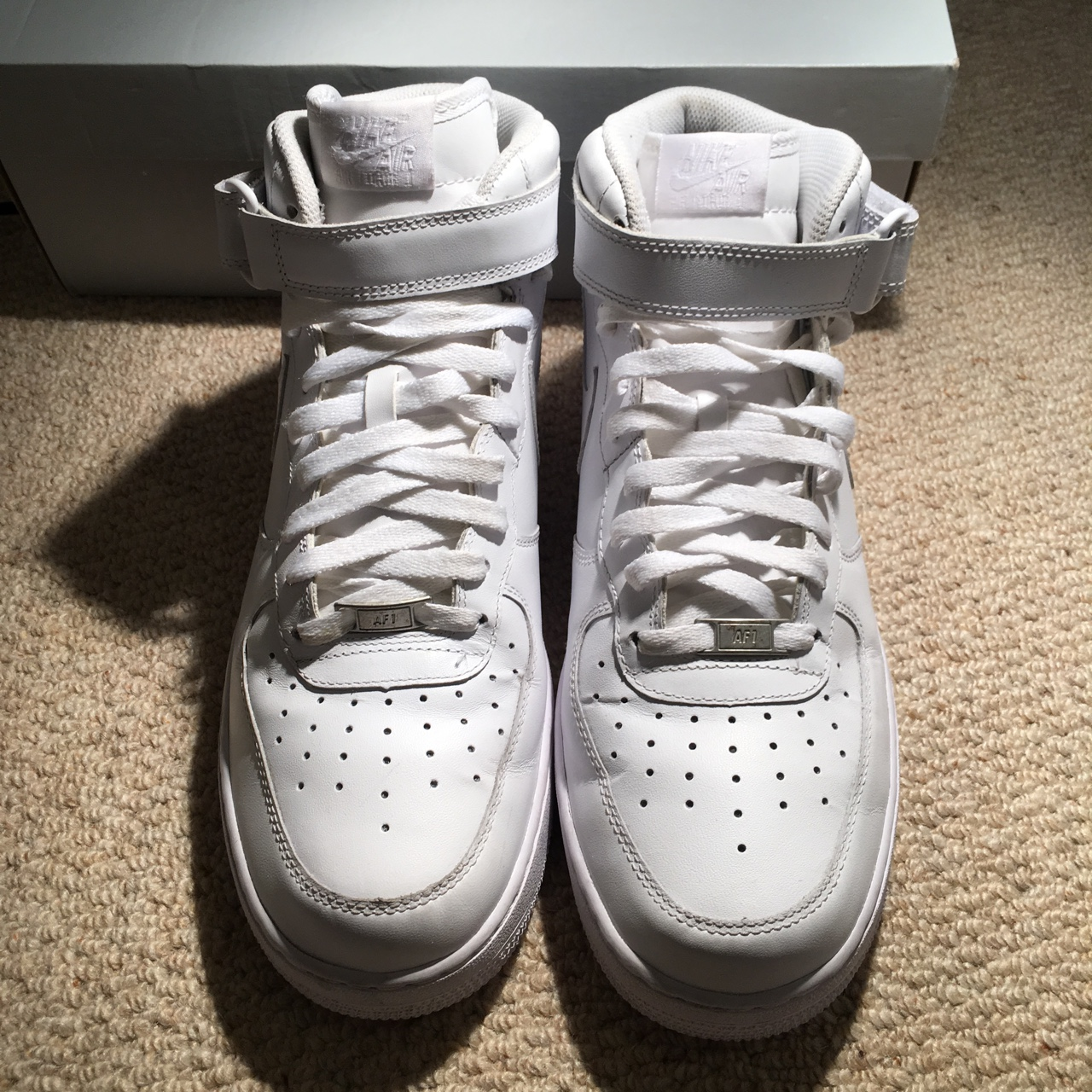 Nike Air Force 1 Mid '07 White used but