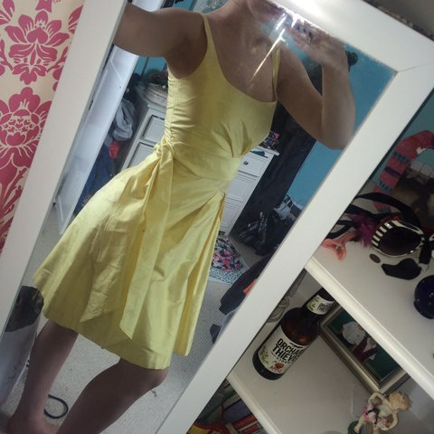 d6aca20c241 🔴Selling this fab bright yellow dress from coast ❤ so and - Depop