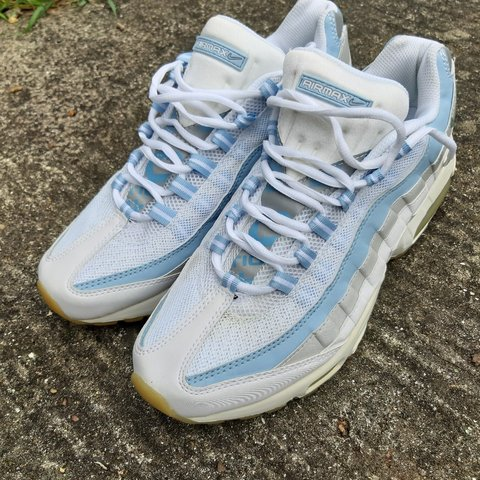 watch 2fe73 298ad  jaaysee. 22 days ago. London, GB. Nike Air Max 95 White   Light Baby Blue