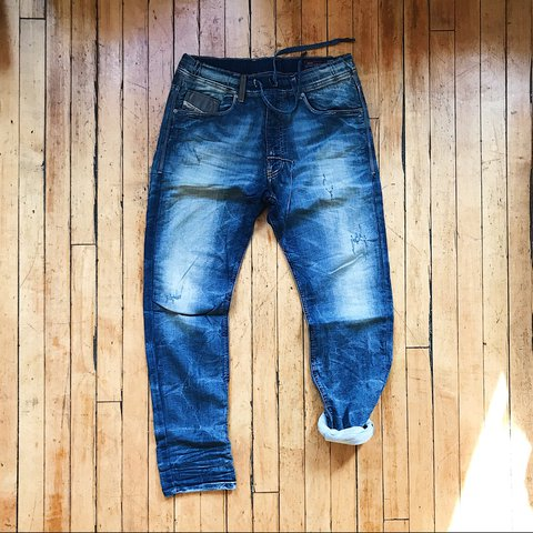 6a89ea46 Men's Diesel jogg jeans. Style: Narrot. Size: 30. Sweats and - Depop