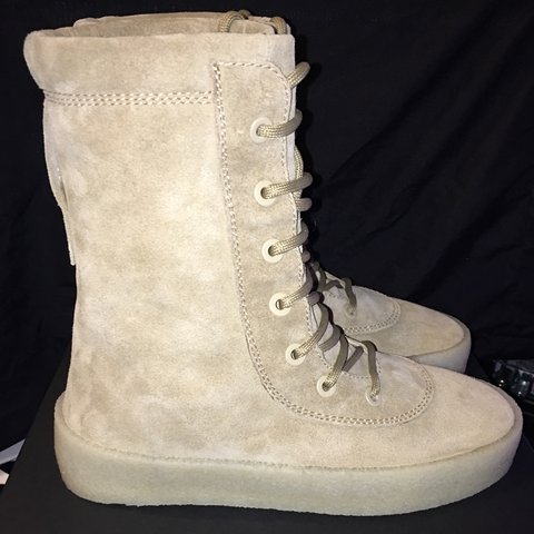 4d36e0ac538c6 Yeezy Crepe Boot Brand New Size 41 us8 Box   Receipt - Depop