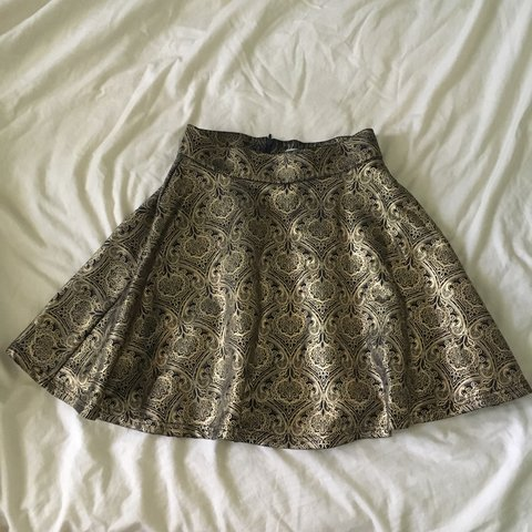 53dbb520eb @lizzyedyvane. 2 years ago. Jingili NT 0810, Australia. Gold and dark blue  Valleygirl circle skirt ...