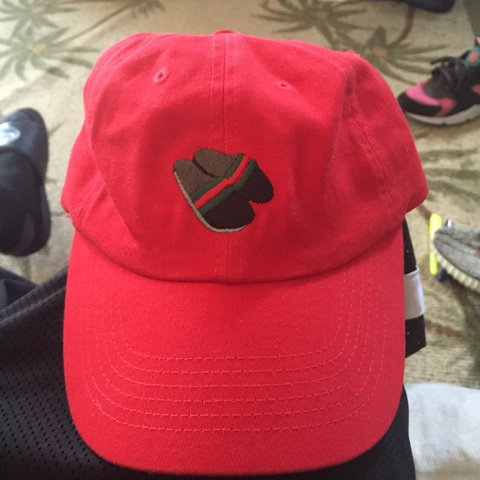 3b579714b0fa Brand new !!! Daily Doses Gucci flip-flop dad hat !!!! Never - Depop