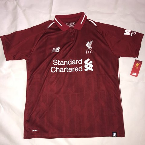 4fe62cf3e Brand new with tags  Liverpool FC  18 19 Home kit. Coming - Depop