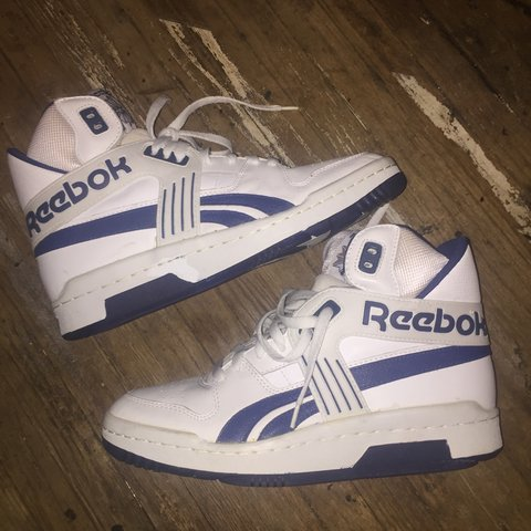 Vintage Reebok Basketball shoes brand new but they do show - - Depop eef6faf7f