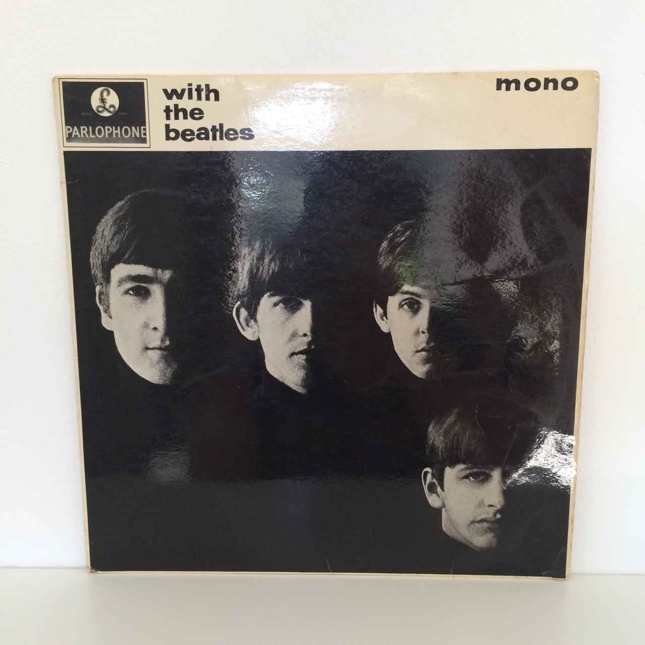 The Beatles - With The Beatles Mono Vinyl LP, First    - Depop