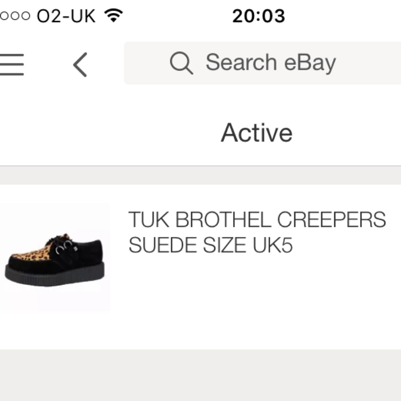 Selling These Creepers On My Ebay Search Depop