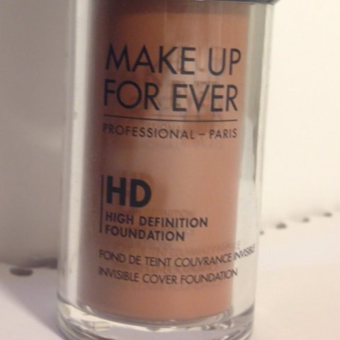 Makeup Forever Ultra HD foundation.- 0