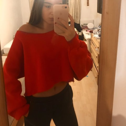 7cf0e1c24331a Cute red vintage jumper from urban outfitters