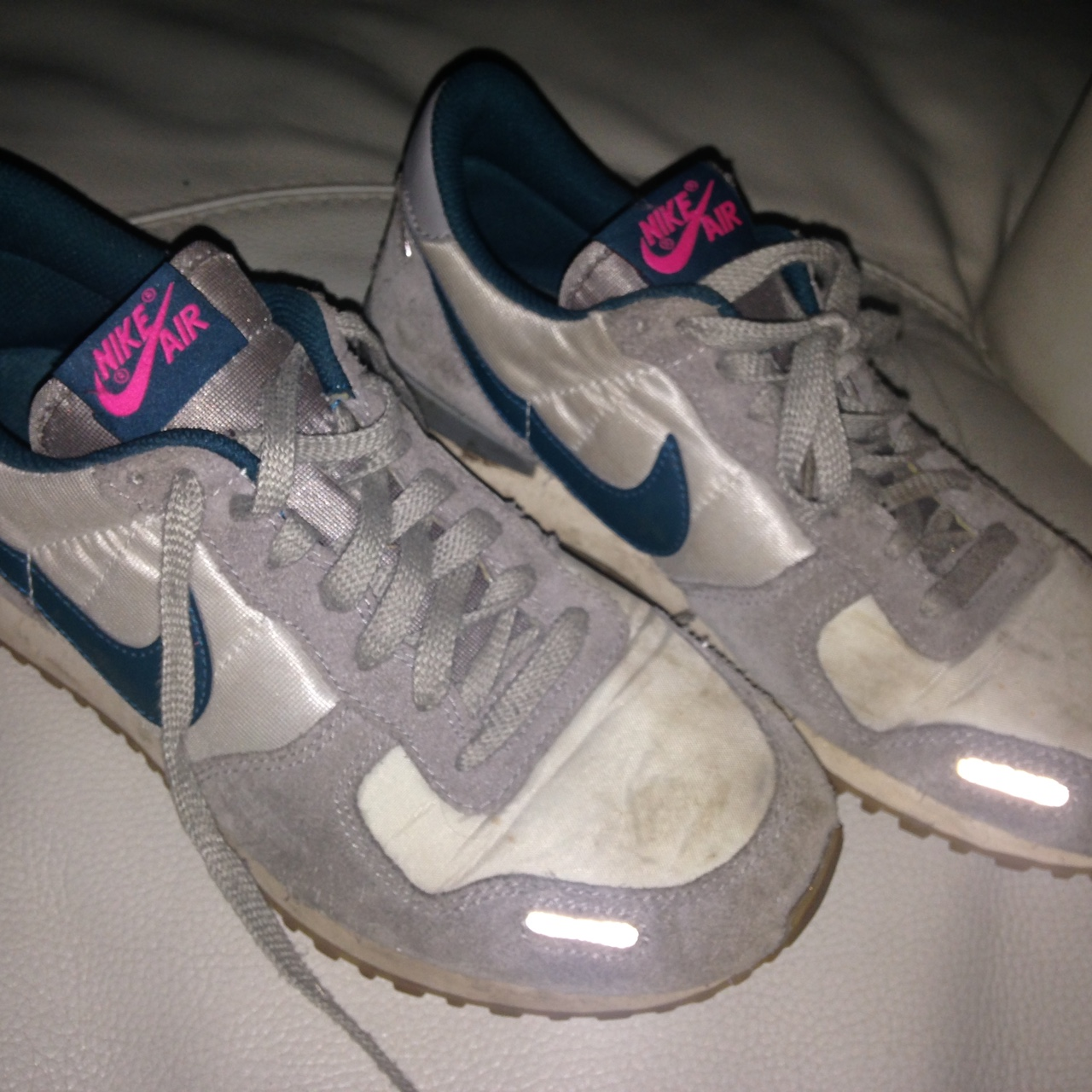 Desempleados Frotar Punto muerto  Nike air vortex grey green and pink size 6. Used a... - Depop