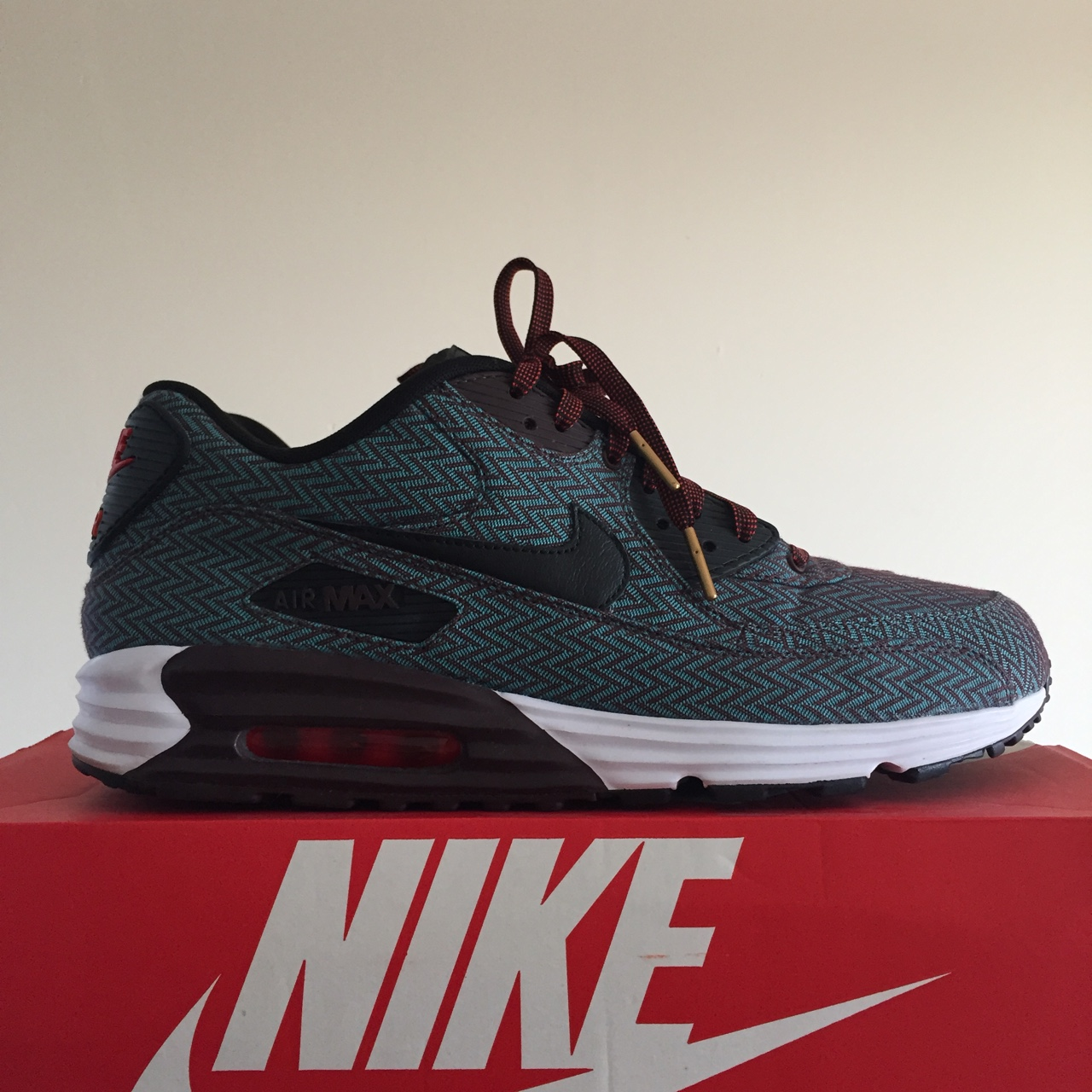 new styles 083cb c8f9e Nike Air Max 90 Suit & Tie 2014 705068 600 I think... - Depop