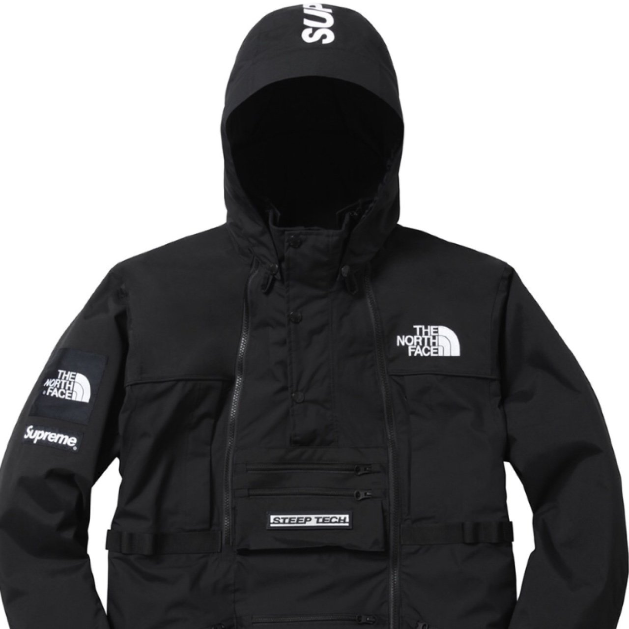 Yeezy Plug 3 Years Ago Niceville Fl Usa Supreme Jacket Parka Size Medium Black The North Face Collab