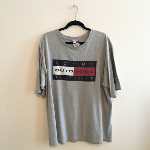 e76579b9 @greatjob. last year. Queens County, United States. Very rare vintage Tommy  Hilfiger Outdoors t shirt ...