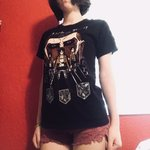 f5d453010 Attack on Titan Hot Topic Tee Shirt. Sasha from AOT eating a - Depop