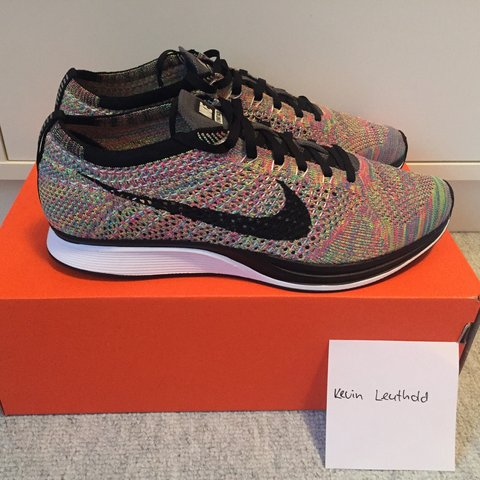 free shipping 6a183 a79b3  kevinleuthold. 3 years ago. Hinwil, Switzerland. Nike Flyknit Racer  Multicolor 3.0 ...