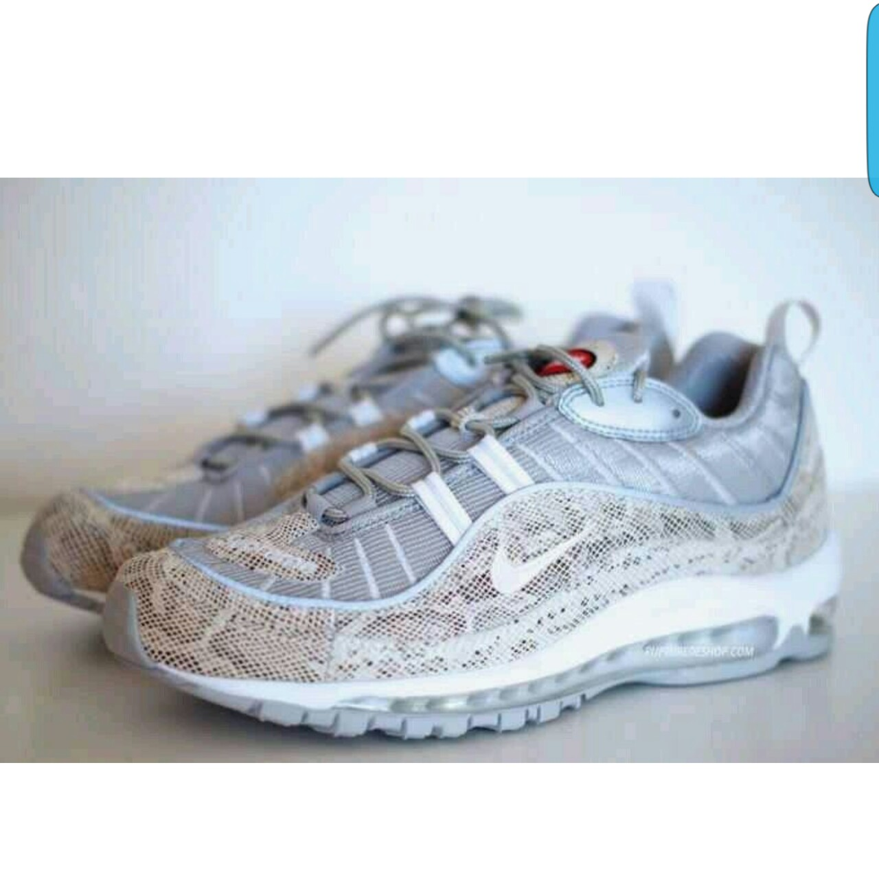 new products c91f8 4b087 Supreme x Nike Air Max 98 Snakeskin US9/UK8/EUR42,5 ...