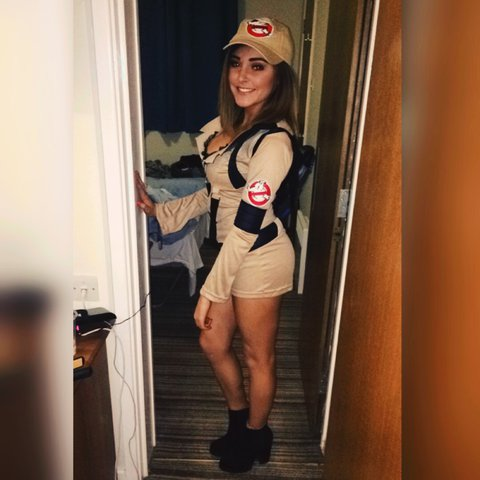 Sexy ghost buster costume