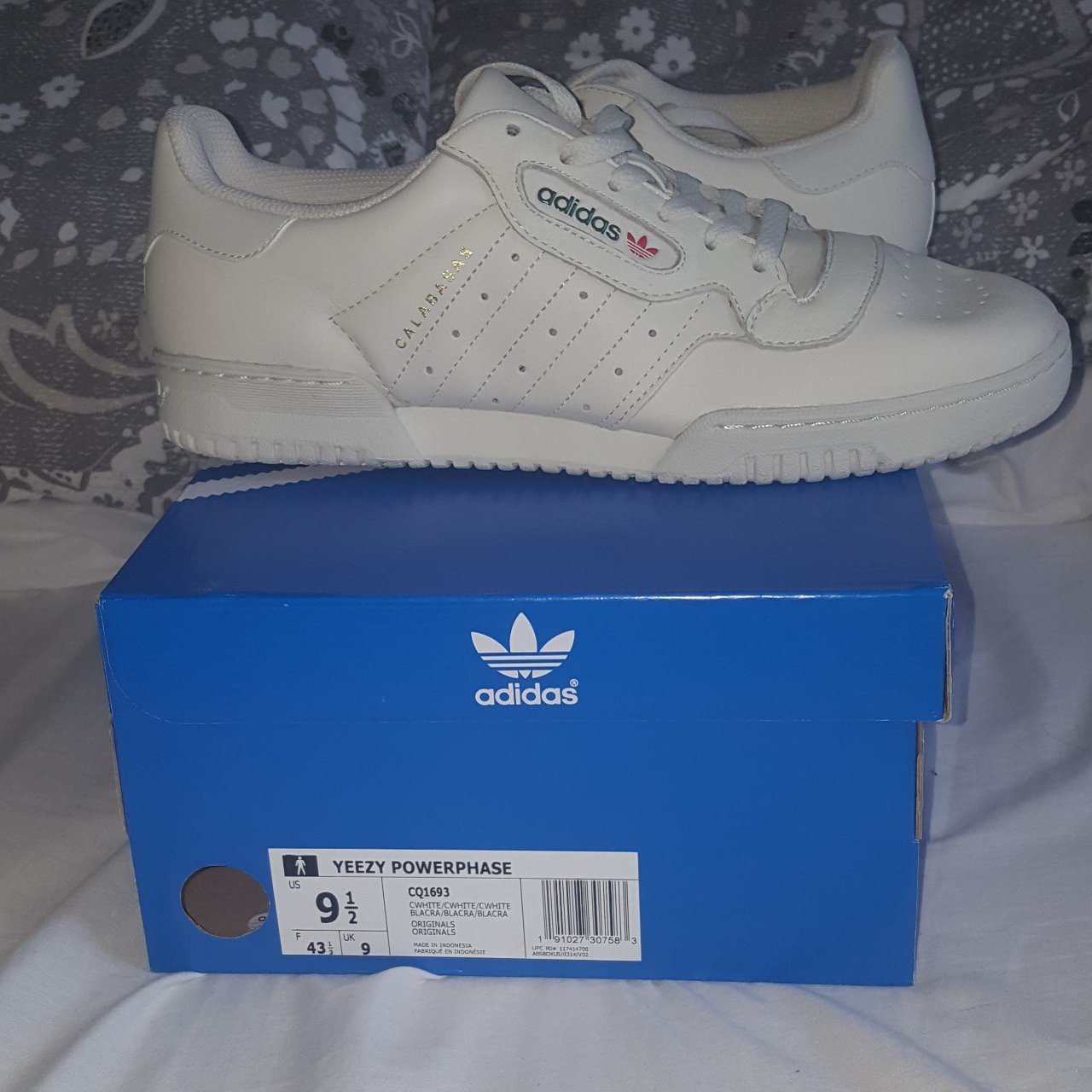 eb695a7d42f Adidas Yeezy Powerphase Calabasas Size 9 Uk Fits true to is - Depop