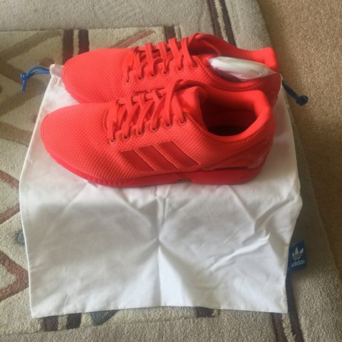 3d2f2a2aa7650 Mi Adidas ZX Flux triple Red. Very good condition only worn - Depop