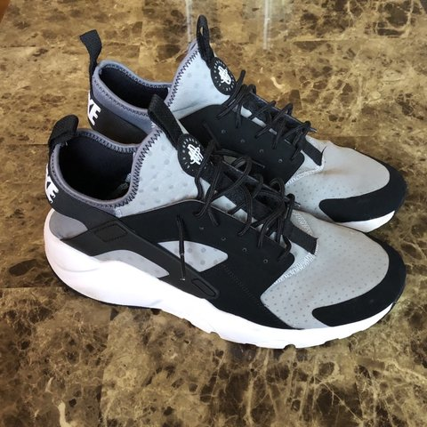 76c2c2e30a @slrknows. 3 months ago. United States. Nike Air Huarache Ultra Wolf Grey  Size 11.5