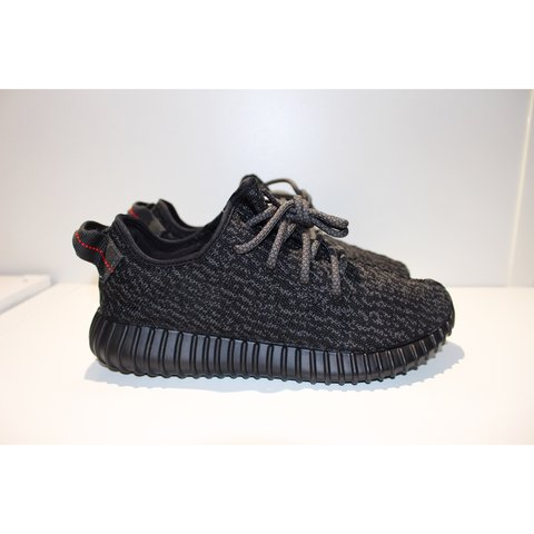 04d659f21f245 Adidas Yeezy Boost 350 - Pirate Black 2.0