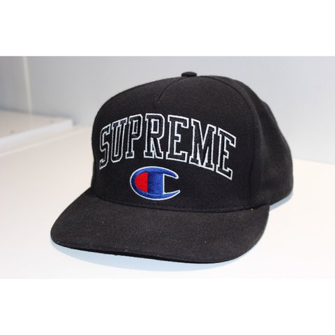 908ccfe2 ... both large logo embroidery dollar sign back baseball snapback hat white  4e101 9edec; discount code for supreme x champion snapback black 8 10  condition ...