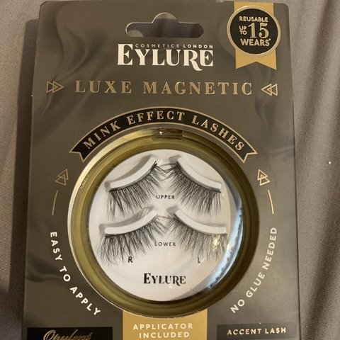 c4722261a09 @terricallaway. 9 months ago. Norwich, United Kingdom. Eyelure magnetic  accent lashes. Never used.