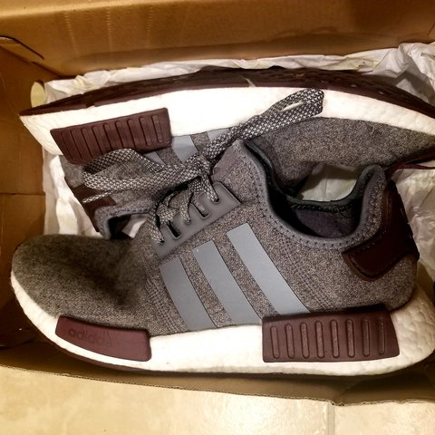 new concept a1ae4 eebc2 adidas nmd r1 mens size- 0