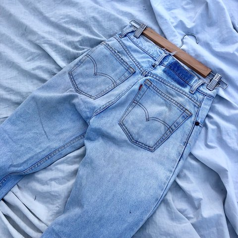 927c9302 @saramatsui. 10 months ago. Panania, Australia. Worn in vintage denim Levi  boyfriend jeans. Beautiful washed out light blue ...